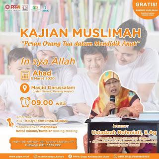 Kajian Muslimah di Masjid Darussalam Karang Anyar Tarakan Bersama Ustadzah Rohmiati 20200308 - Kajian Islam Tarakan