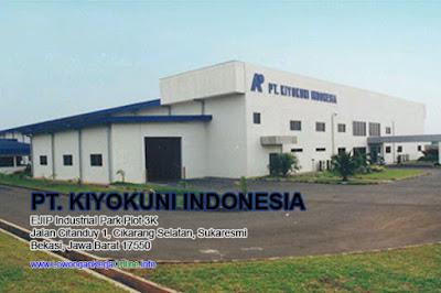 Loker PT Kiyokuni Indonesia