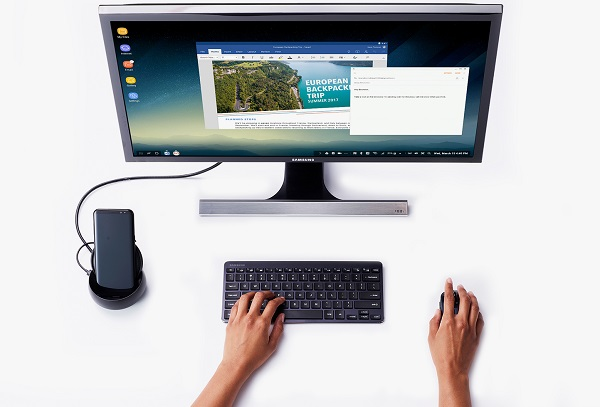 SAMSUNG DeX Station announced, Convert your Galaxy S8 or S8+ into a desktop computer