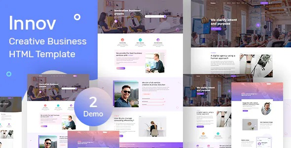 Best Creative Business Agency HTML Template