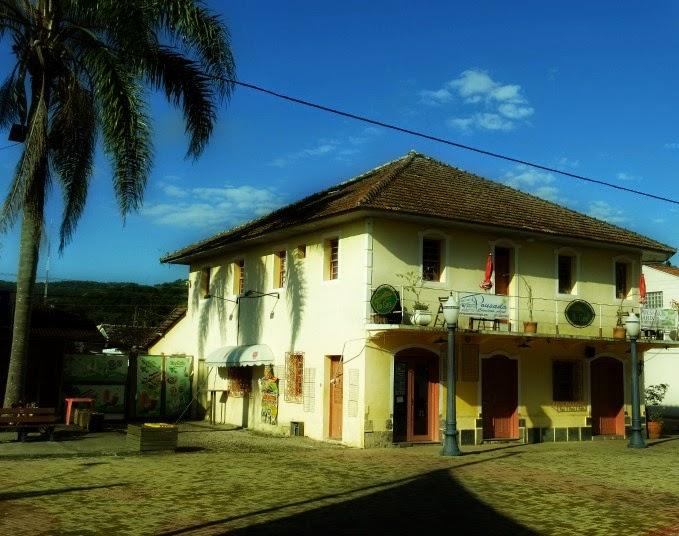 Casarão Histórico de Porto Belo: antigo hotel