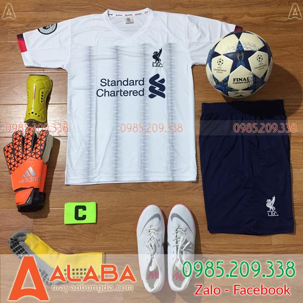 Áo CLB Liverpool 2019 Màu Trắng