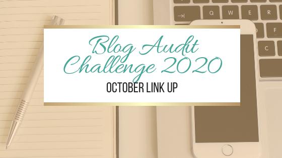 博客审计挑战2020:十月链接#BlogAuditChallenge2020