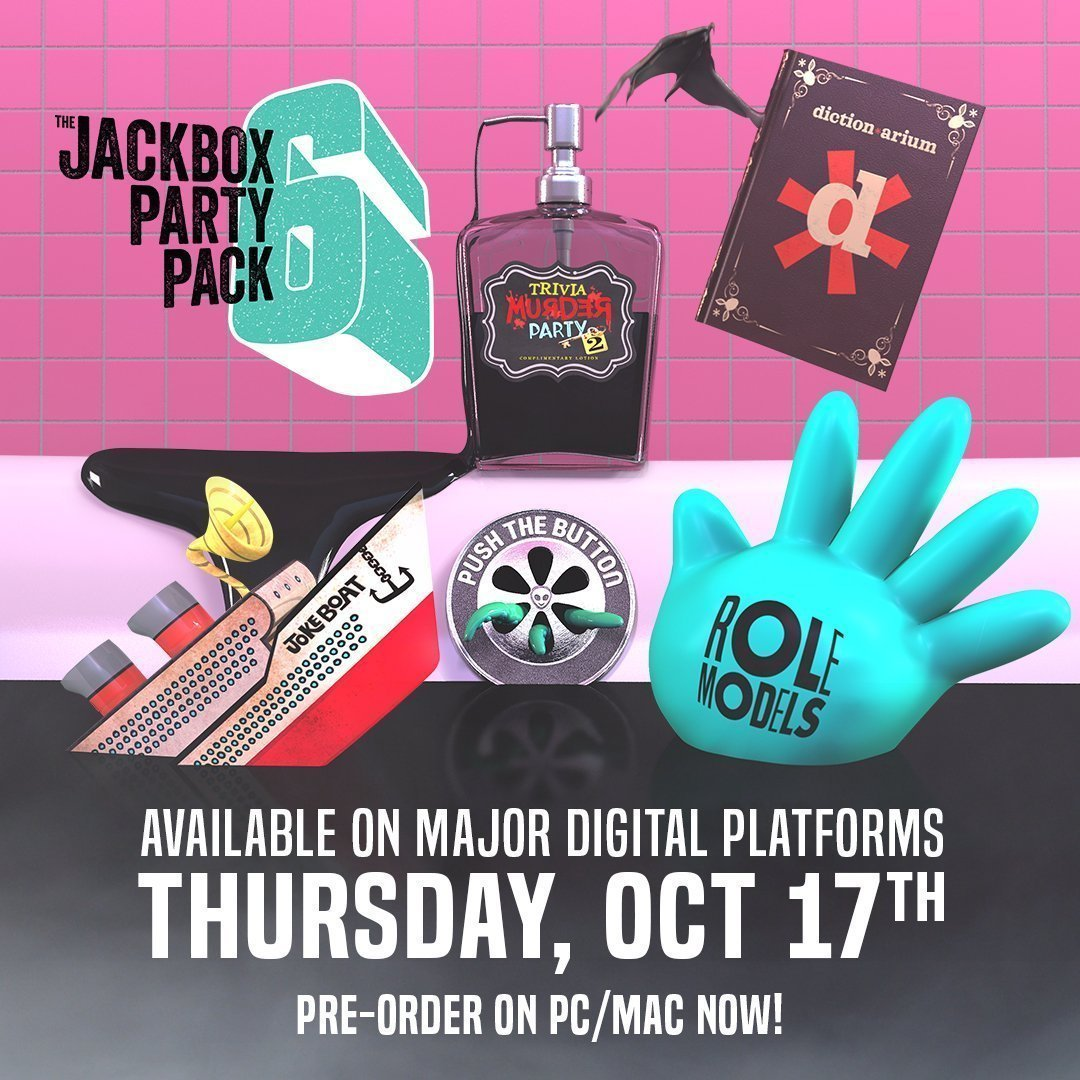 The Jackbox Party Pack 6 Now Available For PS4, Xbox One ...