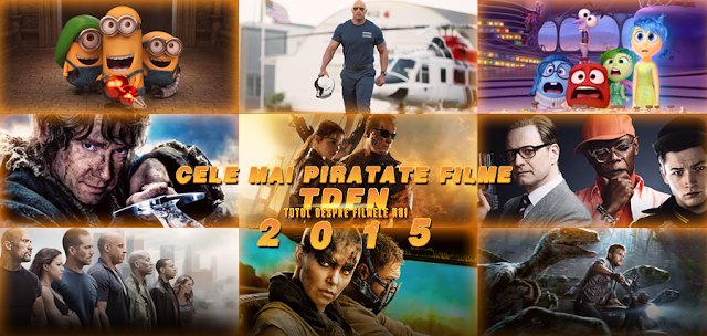 Totul Despre Filmele Noi: Cele Mai Piratate Filme Din 2015