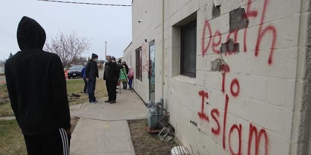 Polisi AS Buru Pelaku Vandalisme Selama Ramadhan Di Masjid Minessota