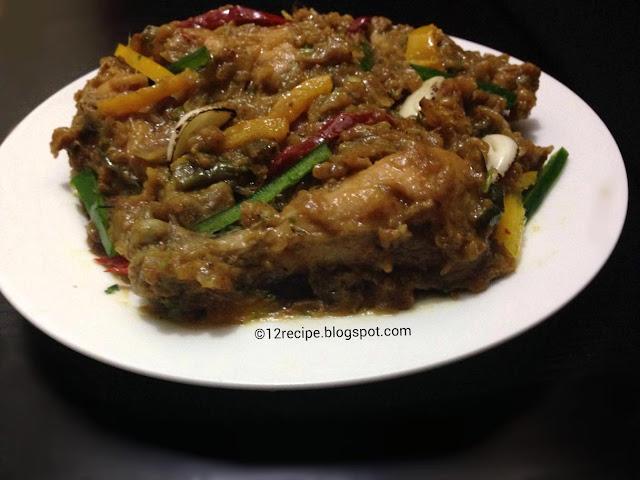 Garlic Chicken - Indian Style - Recipe Book