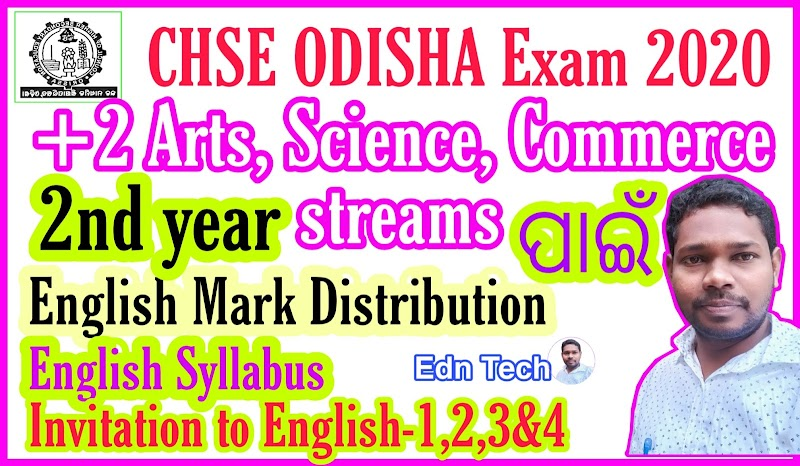Do you know about the syllabus and distribution of Marks For plus two second year arts science and Commerce streams ?