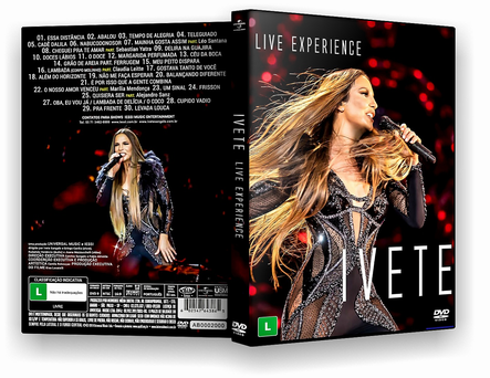 DVD Ivete Sangalo Live Experience 2019 - ISO