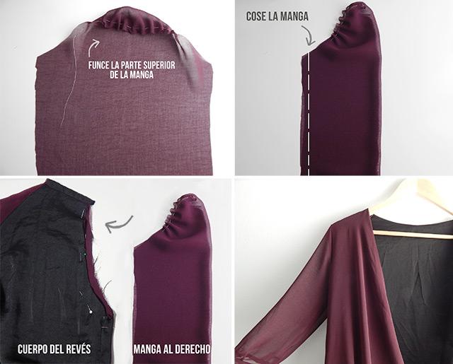 diy-coser-mangas-vestido