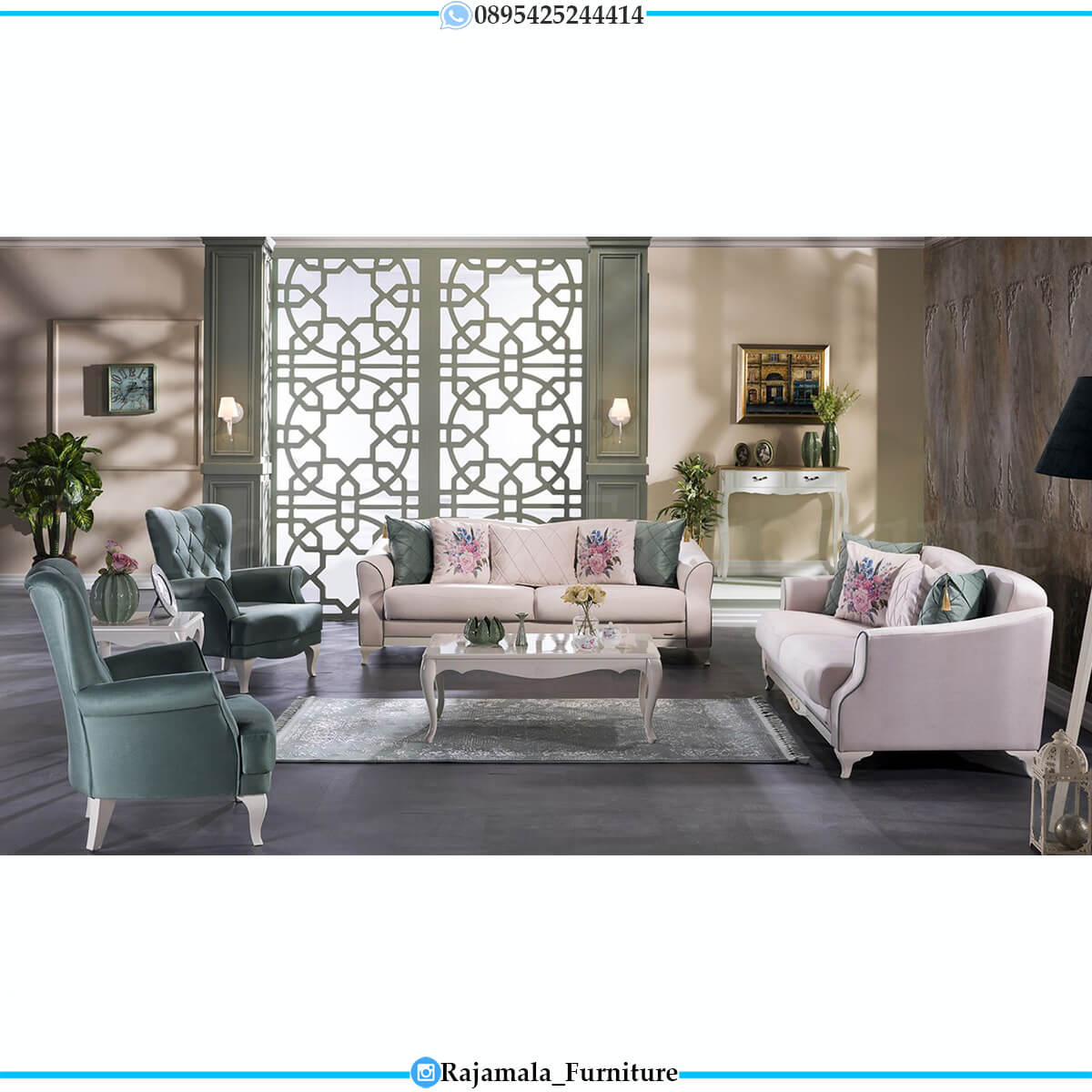 Sofa Minimalis Terbaru Shabby Chic Elegant Luxury Design RM-0627