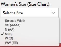1ec7269a2 كيفية معرفة مقاسات الأحذية عبر المواقع الالكترونية + الطلب من موقع ...