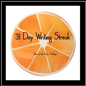 31 day writing streak