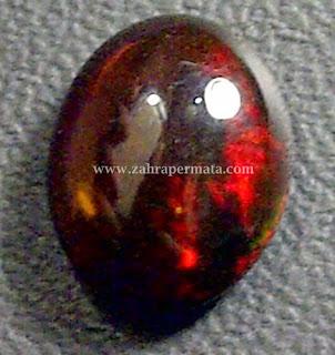 Batu Permata Black Opal Kalimaya - ZP 279