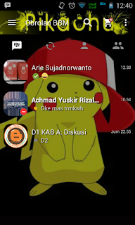 Download BBM Mod Pikachu v2.13.1.14 Apk Terbaru Juli 2016