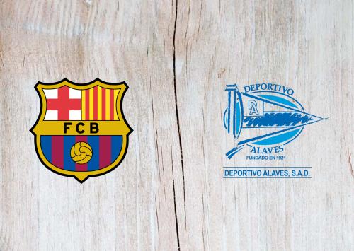 Barcelona vs Deportivo Alavés -Highlights 21 December 2019