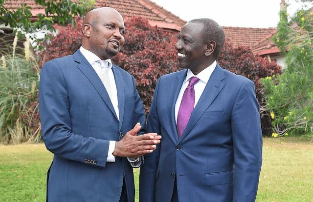 People's Empowerment Party (PEP) linked to Gatundu South MP Moses Kuria