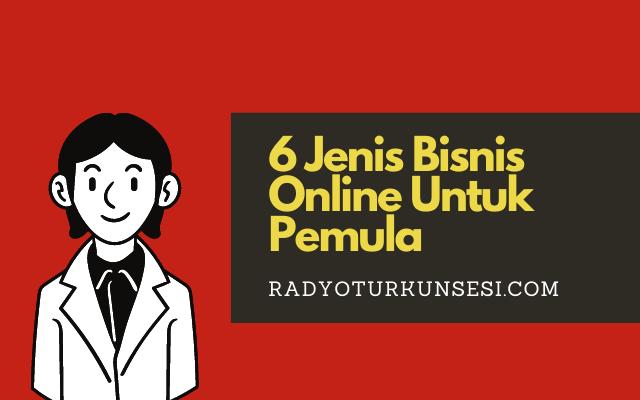 Jenis Bisnis Online Untuk Pemula
