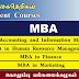 MBA Programmes - கொழும்பு பல்கலைக்கழகம்