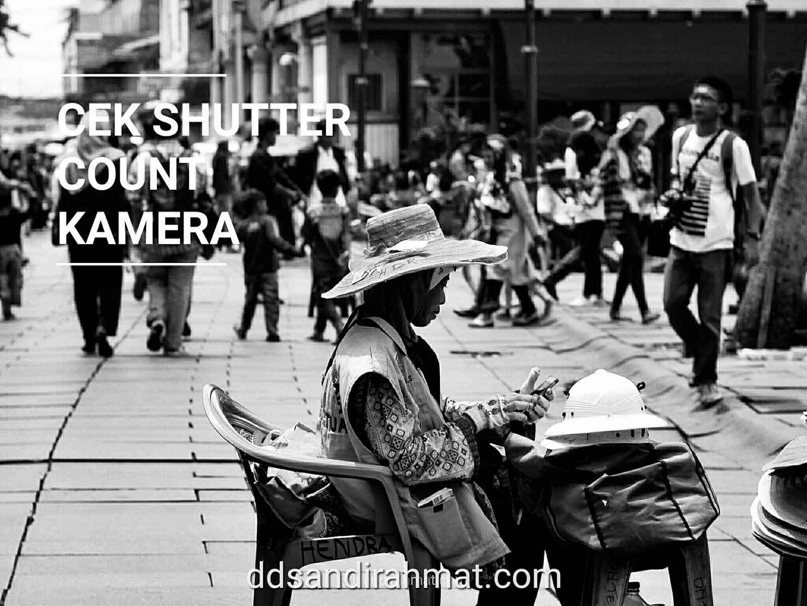 Cara Cek Shutter Count Kamera