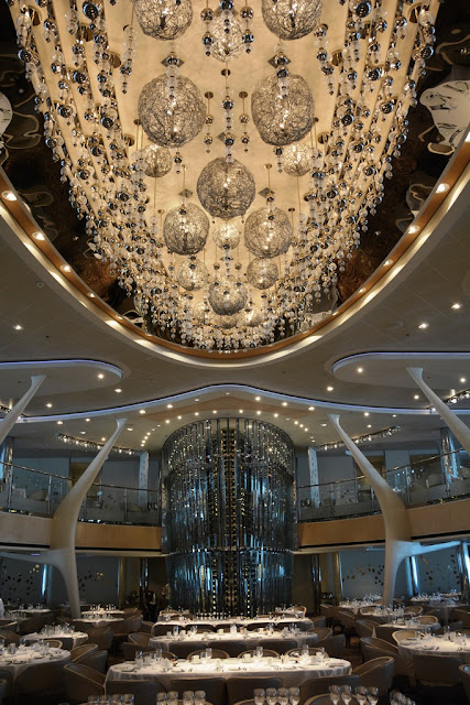 Celebrity Solstice Main dining room