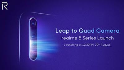 Waktu Launching Realme 5 Series