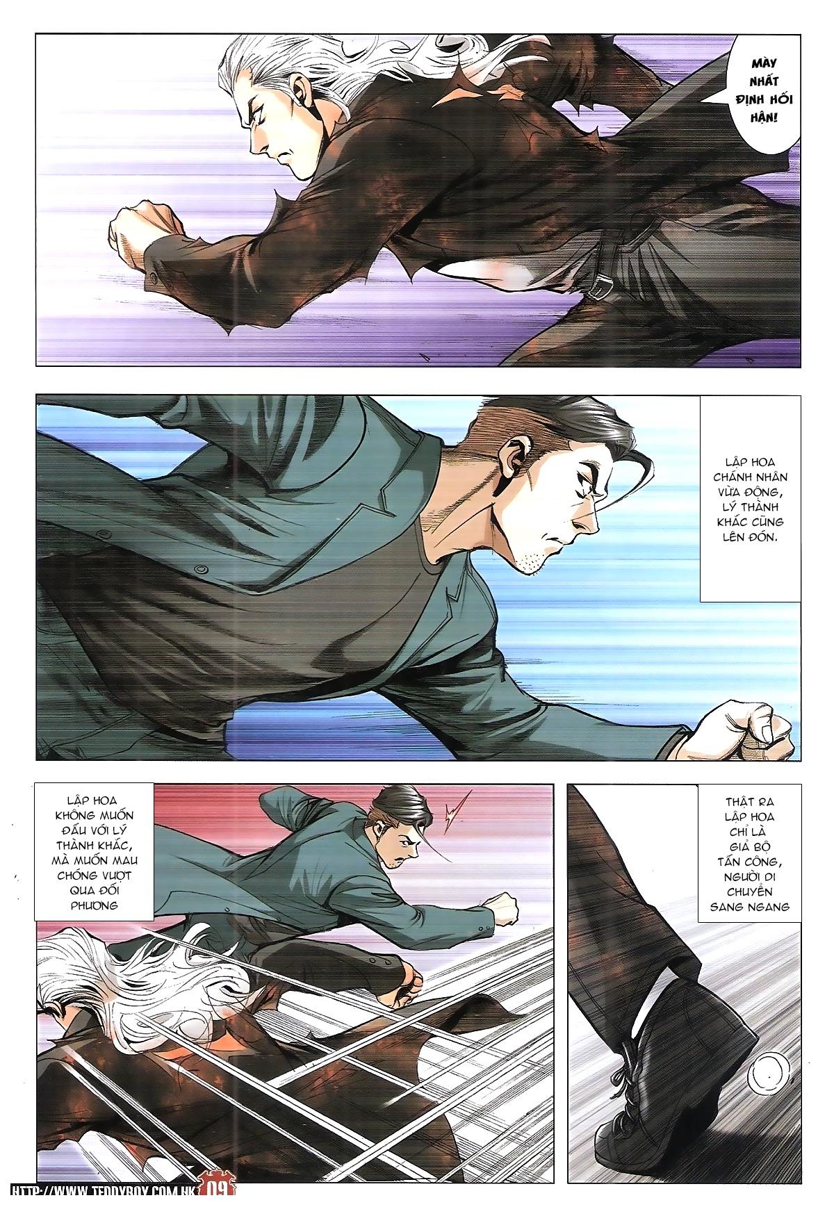 Người Trong Giang Hồ chapter 1922: cường nhân chiến trang 8