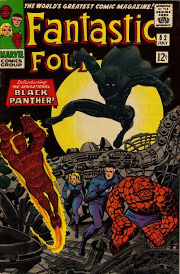 Fantastic Four #52, first appearance of the Black Panther