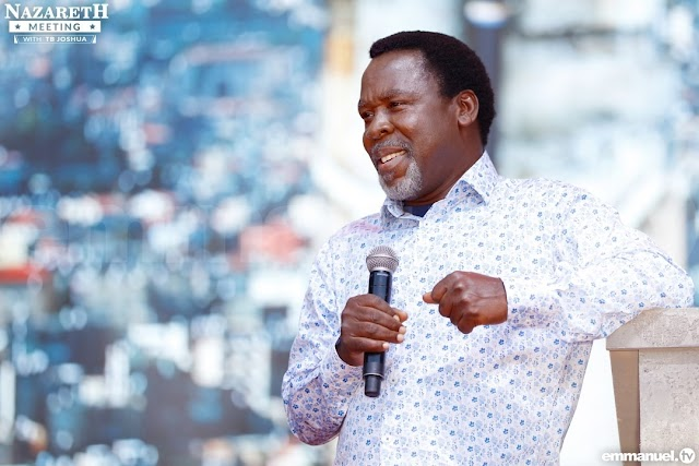 The WHO Endorsed Prophet TB Joshua to Pray for COVID-19 Infected Patients