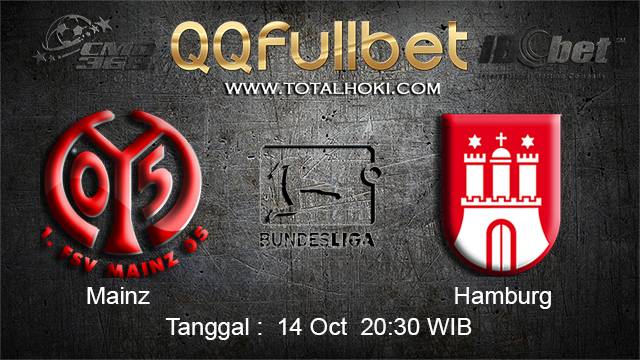 PREDIKSIBOLA - PREDIKSI TARUHAN BOLA MAINZ VS HAMBURG 14 OCTOBER 2017 (BUNDESLIGA)