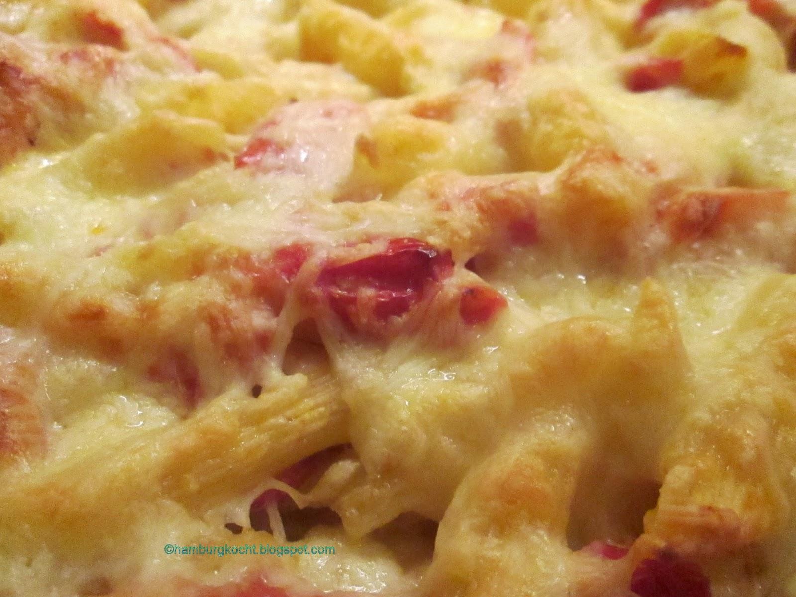 Hamburg kocht kochen ohne t te tomaten k se makkaroni for Kochen ohne salz