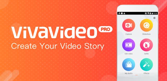 قم بتنزيل VivaVideo Pro Video Editor 6.0.4 - أفضل تطبيق لتسجيل وتحرير الفيديو الاندرويد