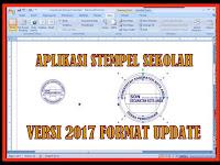 Download Aplikasi Stempel Sekolah Format Terbaru