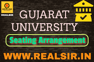 Seating Arrangement - 2020 Gujarat University