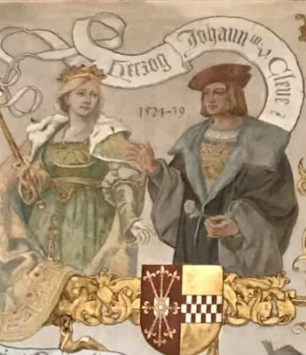John III, Duke of Cleves with his wife Maria of Julich-Berg