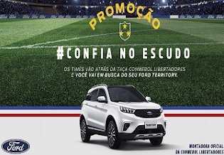 Promoção #ConfianoEscudo Ford Libertadores