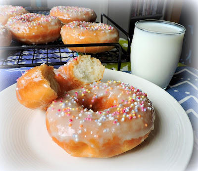 Grandmother's Glazed Donuts