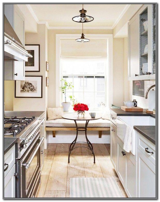 Galley Kitchen Decorating Ideas