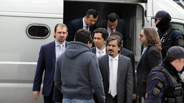 Τουρκία: Γιατί θυμήθηκε «ξαφνικά» τους οκτώ αξιωματικούς