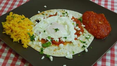 Receta fácil de huevos rancheros deliciosos