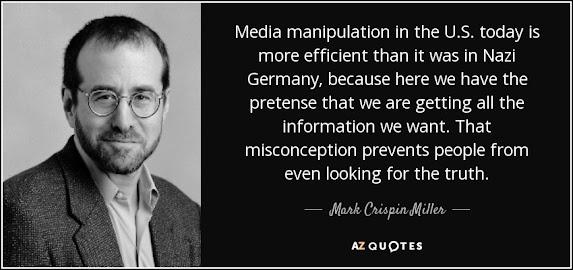 mainstream media propaganda CIA suppression corruption manipulation