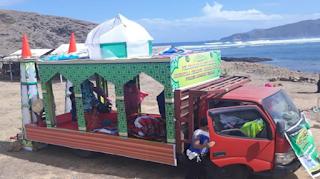 Mushola Berjalan di Pulau Seribu Masjid Mandalika Tempat Wisata Terbaik Yang Ada Di Indonesia: Ajaib? Mushola Berjalan di Pulau Seribu Masjid Mandalika Makara Viral?