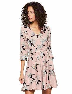 Crepe-wrap-Best-women-Dress