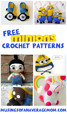 free minions crochet patterns