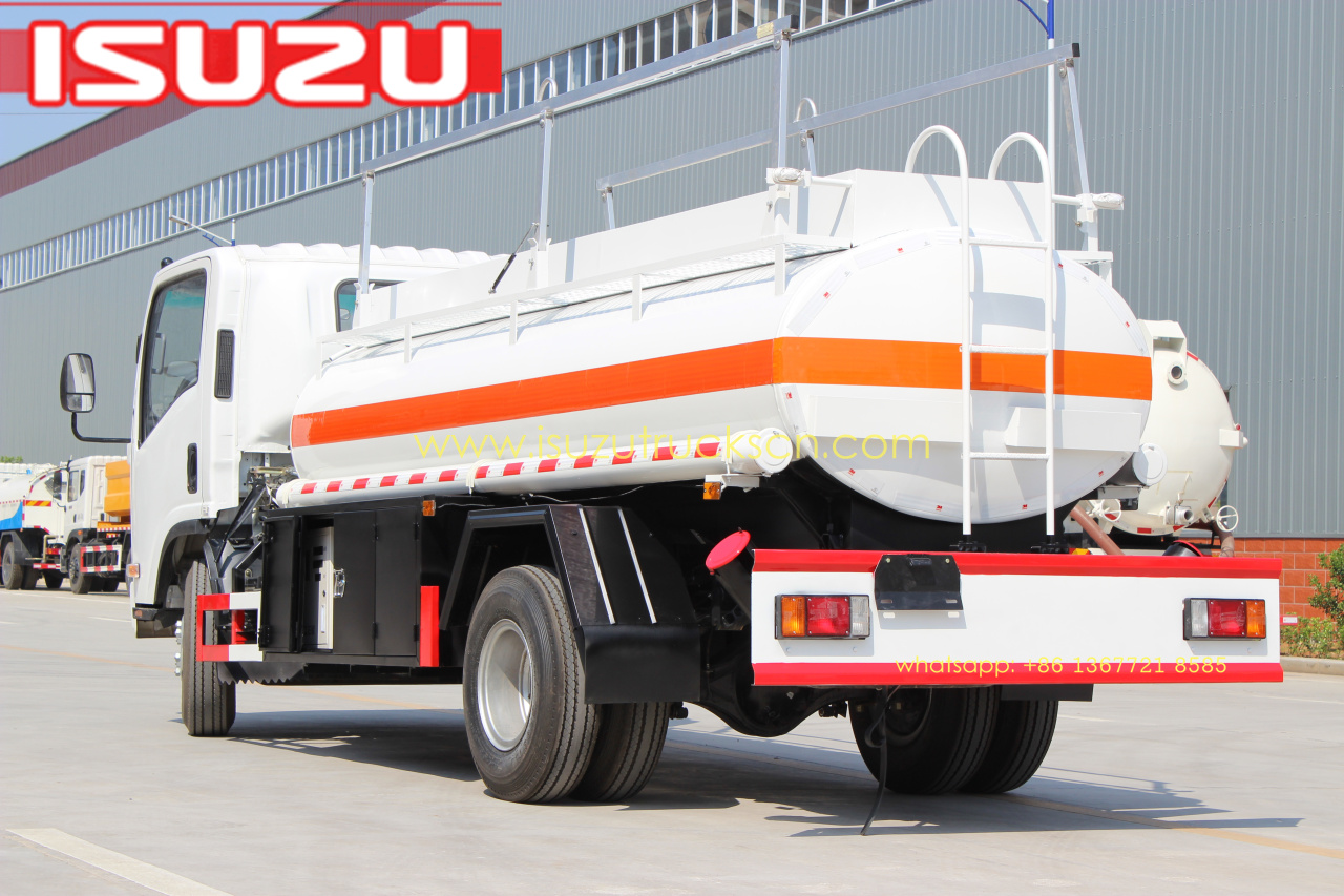 Isuzu Fire Trucks Isuzu Fuel Water Tanker Trucks Isuzu Road