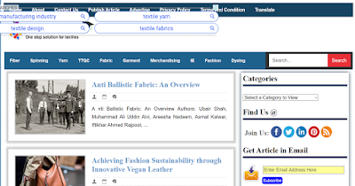 Top Listed Textile Blogs and Websites on the Web | Textile learner