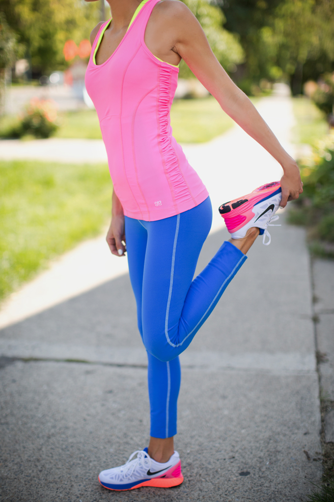 Bright doesn't need to be tacky. Grab these neon picks for sporting your bright side in the gym.