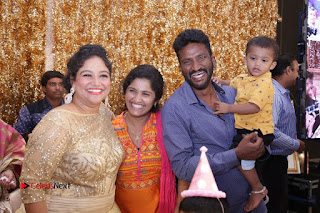 Choreographer Shobi Lalitha's Daughter 1st Birthday Celetion Pictures 0082