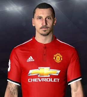PES 2017 Faces Zlatan Ibrahimovic by Facemaker Ahmed El Shenawy