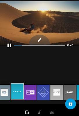 Edit video Quik app